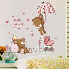 Lovely Bear Baby Nursery Kids Room Removable Decal Decor Art Wall Stickers Mural