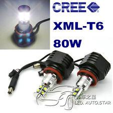 BMW E89 Z4 E70 X5 E92 H8 80W XML CREE High Power LED Angel Eyes HALO RING Marker