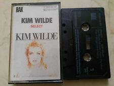 KIM WILDE Select *ORIGINAL GERMAN MC TAPE*NM*1982
