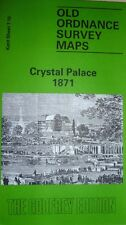 OLD ORDNANCE SURVEY DETAILED MAP CRYSTAL PALACE KENT  1871 SHEET 7.10 NEW