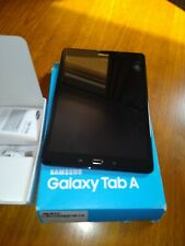 Samsung Galaxy Tab A SM-T550N 16GB, Wi-Fi, 9.7in  Black used good condition