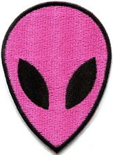 Alien ET ufo area 51 flying saucer sew embroidered applique iron-on patch S-1187
