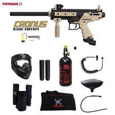 Tippmann Cronus Basic Tactical Private Hpa Paintball Gun Package - Black / Tan