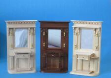 Flurgarderobe Schrank Diele Puppenhausmöbel Miniaturen 1:12