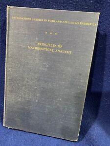 Principles of Mathematical Analysis Walter Rudin HC 1953