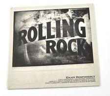 ROLLING ROCK BIRRA SOTTOBICCHIERI DI BIRRA SOTTOBICCHIERE SOTTOBICCHIERE USA