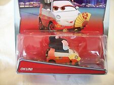 Disney Pixar Cars - OKUNI - 2015 New - Worldwide Fast Shipping