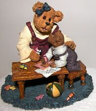 """Boyds Bears """"Momma withTaylor, Quality Time"""" Reading, School, play, 227747, Nib"""