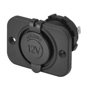 Marine Grade 12V 24V Cigarette Lighter Power Plug Outlet Adapter Charger Socket