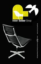 MID CENTURY 1950's Herman Miller EAMES CHAIR Pubblicità A3 POSTER STAMPA RE