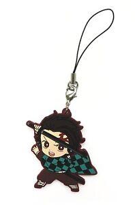 Demon Slayer Kimetsu no Yaiba Rubber Strap Keychain Charm~ Tanjiro Kamado @36125
