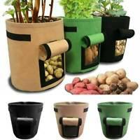 Pflanzsack Gemüse Pflanze Pflanzsäcke Pflanztopf für Kartoffel Tomate S/M/L Neu
