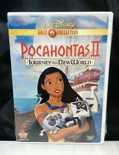 Pocahontas II 2: Journey To A New World (DVD, 2000) GOLD Collection - Sealed New