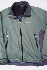 Cloudveil Full Zip Midweight Fleece Jacket. Green and Gray, Men's Size L. GUC!!