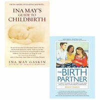 Ina mays guide to childbirth and birth partner 2 books collection set
