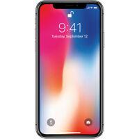Apple iPhone X 256GB A1865 LTE GSM CDMA Verizon Unlocked - Really Good