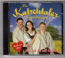 (GL525) Die Katschtaler aus der Steieunark, Nur mit dir will ich leben - CD