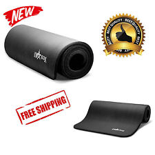 Extra Thick Foam Exercise Yoga Gym Mat Workout Fitness Gymnastics Mats Large Pad