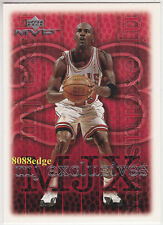"1999-00 UPPER DECK MVP MJ EXCLUSIVES: MICHAEL JORDAN #205 ""83.8% FREE THROW"""