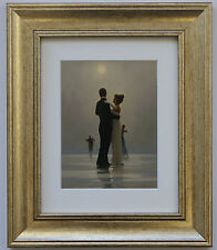 Dance Me To The End of Love by Jack Vettriano Framed & Mounted Art Print Gold
