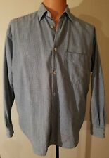 Made In USA Vintage GUESS JEANS Men's Sz XL Plaid Button Down Shirt Long sleeve