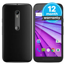 "Motorola Moto G 3rd Generation - 8GB - Black (EE) Smartphone - 5"" Screen - 13MP"