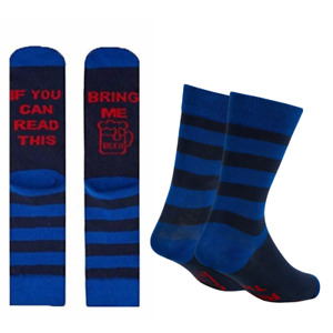 Mens Fun Slogan Socks If You Can Read Beer Dad Husband Son Gift For Him 1 Pair