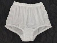 VTG Kim Rogers Made in USA Semi Sheer 100% Nylon Granny Panty Panties 5 Small