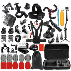 50 in 1 Action Sports Accessories Camera Outdoor Kit GoPro Go Pro Hero 7/6/5/4/3