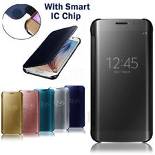 Transparent Mobile Phone Flip Cases for Samsung Galaxy J5