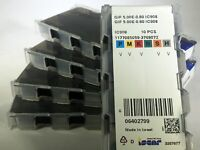 1 BOX OF 10 INSERTS - GIF 5.00E-0.80 IC908 ISCAR (6402799)