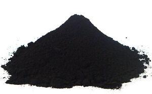 Powder iron oxide (Fe2O3) Black 500 grams Used in / ceramic / pigments -