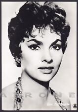 GINA LOLLOBRIGIDA 26 ATTRICE ACTRESS CINEMA MOVIE STAR PEOPLE Cartolina FOTOGR.