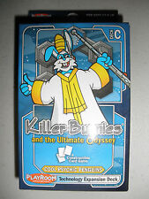 KILLER BUNNIES ULTIMATE ODYSSEY Cool Psychic Penguins Technology Expansion Deck!