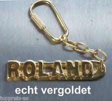 Schlüsselanhänger Geschenk- & Werbeartikel Edler SchlÜsselanhÄnger Jonathan Vergoldet Gold Name Keychain Weihnachtsgeschenk