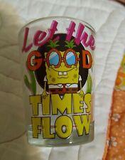 Nickelodeon SpongeBob 🧽 SquarePants Shot Glass� 1.5 oz. New! Free ship!