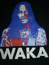 Waka Flocka Flame For President 2015 Black T-Shirt Medium Music Rap Hip Hop