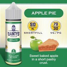 Apple No Nicotine E-Liquids & E-Cig Cartridges
