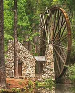 Springbok Puzzles  Water Wheel  1000 Piece Jigsaw Puzzle  Large 30 Inches by ...