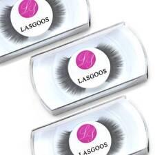 3 Pairs 100% 3D Mink Black Color False Eyelashes Fake Eye Lashes Extension #002