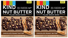(Pack of 2) KIND Nut Butter Chocolate Peanut Butter Snack Bars - 4ct