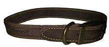 "Timberwolf Leather Collar Sable 50cm/20"" Size 5"