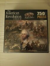 SEALEF Jigsaw Puzzle THE AMERICAN REVOLUTION IN HISTORIC ART 750 Pc Trumbell NEW