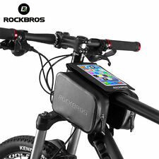 """ROCKBROS Radsport Fahrradtasche Rahmentasche Wasserfest Bild Schirm Unter 6.0"""""""
