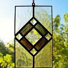 Radiance Stained Glass Suncatcher + Free Personalised Engraving (optional)