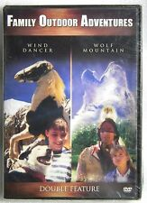 New Sealed Wind Dancer & Wolf Mountain FF DVD Family Friendly Double Feature