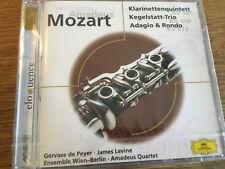 Mozart - Klarinettenquintett [CD Album] DG NEU OVP De Peyer Levine Amadeus Quar