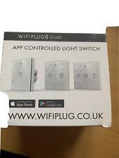 Glass wifi light switch