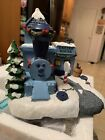 Hawthorne Village Misfit Engine House Rudolph's Christmas Town Retired New w COA
