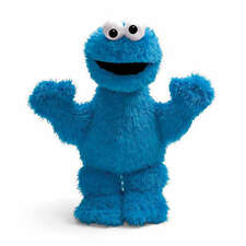 Sesame Street Cookie Monster Soft Plush Toy with Hard Eyes by Enesco NEW 075921